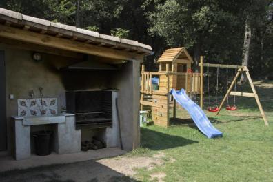 Barbacoa i parc